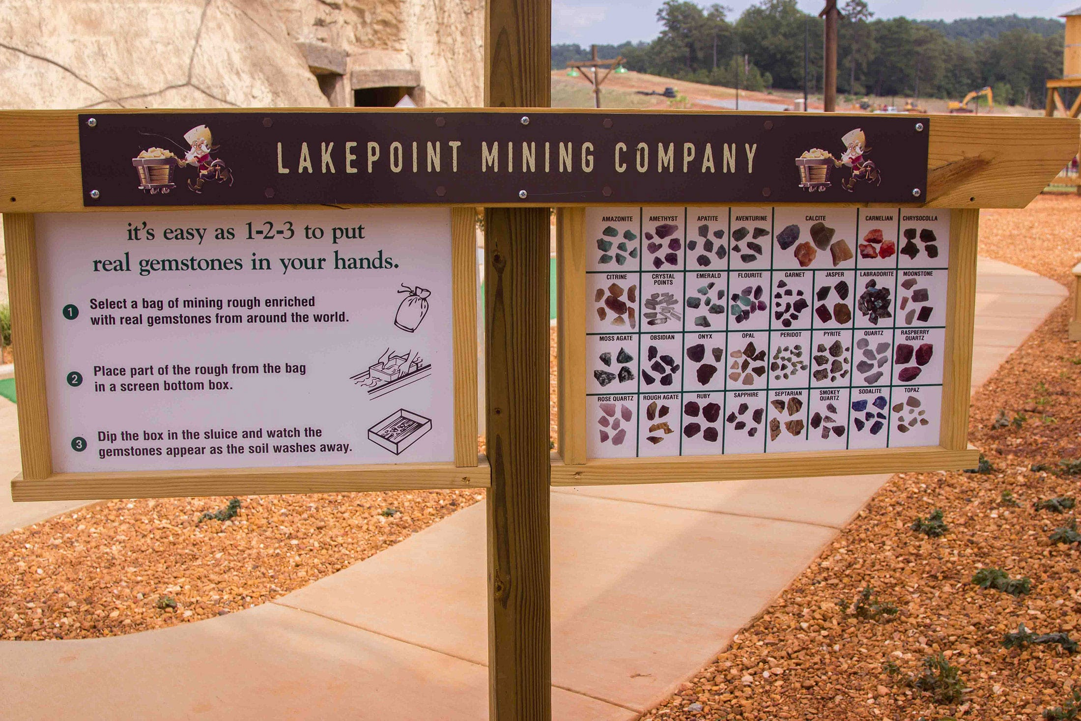 Gem Mining – Lakepoint Station
